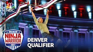 Lorin Ball at the Denver Qualifiers - American Ninja Warrior 2017