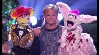 Darci Lynne Brings Together Her Puppet Friends For A GRAND FINALE ACT!!! America