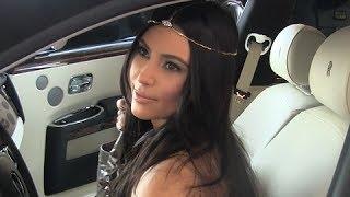 Kim Kardashian Wears A Tiara To Shop At Chanel in Beverly Hills  [2012]