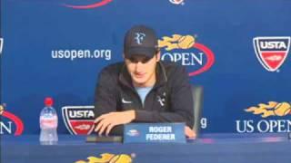 Roger Federer Funny Sarcastic Answer