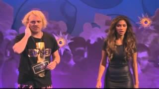 Keith Lemon gets a taste of Nicole Scherzinger