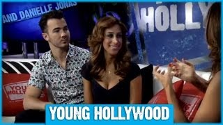 """Kevin & Danielle Jonas Reveal Their First """"I Love You""""!"""