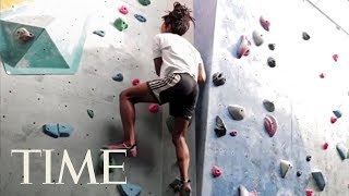 How To Get The Ultimate Full Body Workout From Rock Climbing & Engage All Your Muscles   TIME