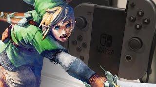 Nintendo SWITCH & das neue Zelda ANGEZOCKT #NochNichtNerdscope