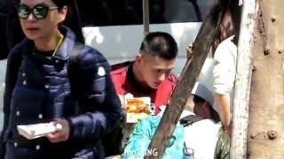 160127 吳亦凡 台灣吃炸雞 Kris Fan Wu in Taiwan