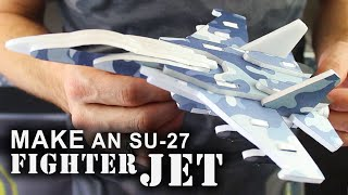 How To Make 3D Foam Fighter Jets