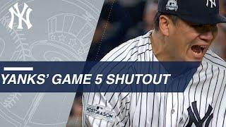 Masahiro Tanaka and Tommy Kahnle combine for Game 5 shutout