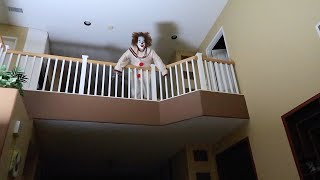 We found a clown in our old house...