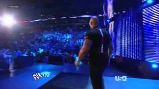 THE ROCK returns to challenge BROCK LESNAR for WRESTLEMANIA 30