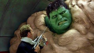 Hulk Escapes Military Base - Hulk Smash Scene - Hulk (2003) Movie CLIP HD