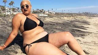 I Wore A Bikini To The Beach For The First Time