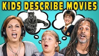 CAN PARENTS GUESS MOVIES DESCRIBED BY KIDS? #3 (React)