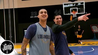 Did Lonzo Ball cross a line talking about Kyle Kuzma