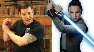 Sword Expert Ranks Star Wars Jedi Fight Scenes