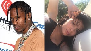 Travis Scott FACETIMES Kylie Jenner At Event & She Hints At Pregnancy?