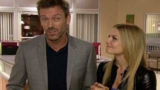 HOUSE: Hugh Laurie & Jennifer Morrison