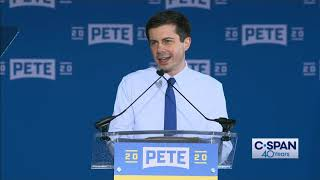 Pete Buttigieg Presidential Campaign Announcement (C-SPAN)