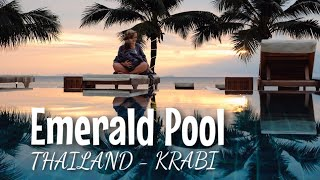 Baden im NATUR POOL - Krabi I Thailand mit Kleinkind I Mellis Blog