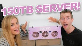 NEW SERVER! 150TB server install with Linus!