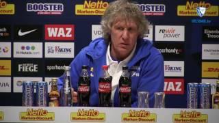 Die Pressekonferenz vor der Partie VfL Bochum 1848 - FC Würzburger Kickers