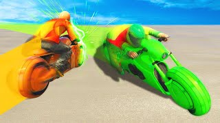 EXTREME TRON TAKEDOWN KILLS! (GTA 5 Funny Moments)