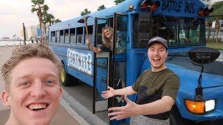 I got a Real Fortnite Battle Bus... (VLOG #3)