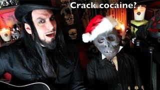 Aurelio Voltaire - Santa Claus is Satan - World Premiere Song OFFICIAL