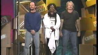 Comic Relief 5 Robin, Billy and Whoopi and the introduction from hell!