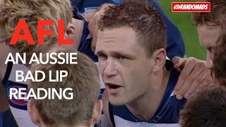 An Aussie Bad Lip Reading - AFL Rules Football (RE-UPLOAD)