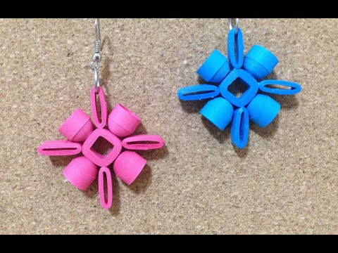 Le Quilling Earrings Designs