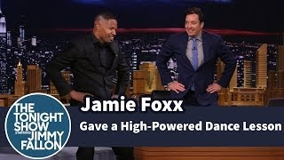 Jamie Foxx Gave a High-Powered Dance Lesson