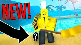THEY ADDED THIS FOR ME! (Roblox Treasure Hunting Simulator)