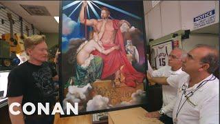Conan Visits A Pawn Shop