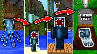 TINTENFISCH LEBENSZYKLUS in Minecraft - Vom TIER zum DIENER