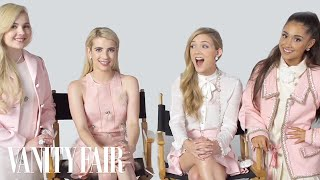Ariana Grande and The Cast of Scream Queens Have an Ice Cream Taste-Off | Vanity Fair