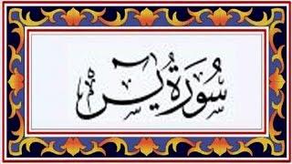 Surah YASEEN(Ya-Seen)سورة يس - Recitiation Of Holy Quran - 36 Surah Of Holy Quran