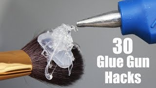 30 Awesome Hot Glue Gun Life Hacks