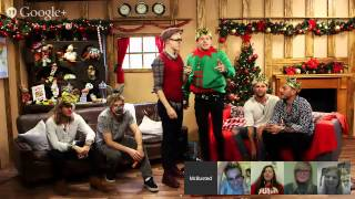 McBusted Christmas Hangout