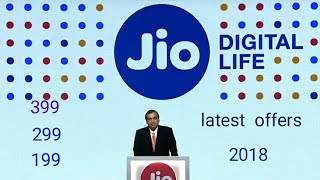 Jio latest recharge offers and cash back offers