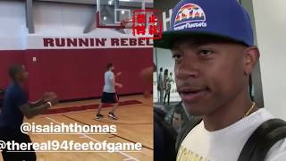Isaiah Thomas Says He Still Wanna Back Home To Celtics As Kyrie