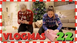 Vlogmas day 22 - The Wrap Race
