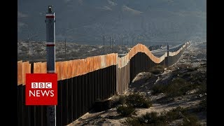 Life in the Shadow of US-Mexico border Wall - BBC News