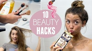 10 Beauty Hacks I ACTUALLY Use!