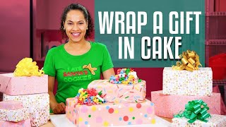 How To Make A SURPRISE INSIDE GIFT BOX Cake | With REAL GIFT INSIDE! |Yolanda Gampp | How To Cake It