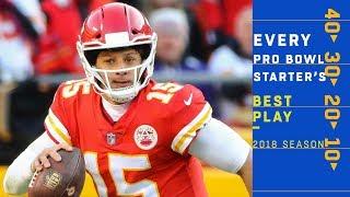 Every 2019 Pro Bowl Starter