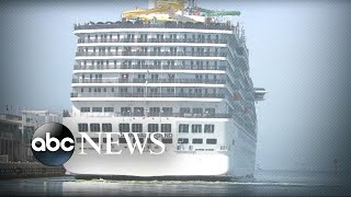 Passengers break out into a brawl on a Carnival Cruise ship
