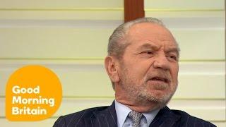 Alan Sugar Slams Donald Trump | Good Morning Britain