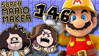 Super Mario Maker: Springy Anger - PART 146 - Game Grumps