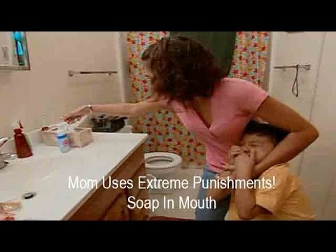 Mom Uses Extreme Punishments On Son Soap In Mouth