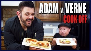 BEST SANDWICH COOK-OFF WITH ADAM RICHMAN | Cooking with Verne